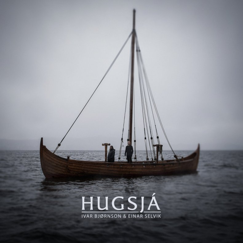 "The two-man project's first album ""Hugsjá"""